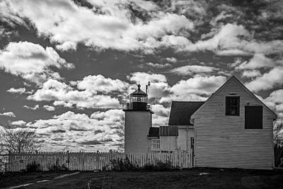 Photograph - Fort Point Lighthouse by Robert Clifford