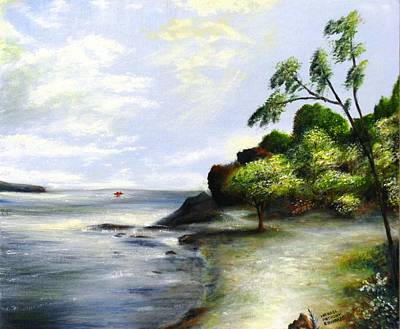 Painting - Fort Point State Park by Michael Anthony Edwards