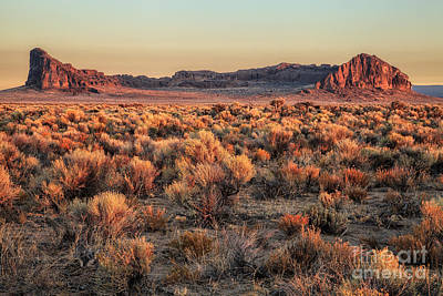 Photograph - Fort Rock At Dawn by Stuart Gordon