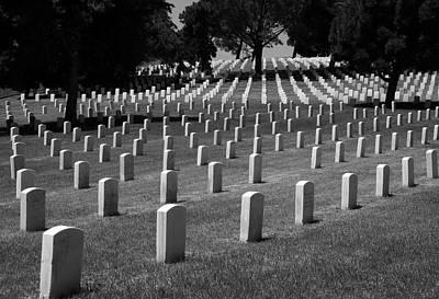 Photograph - Fort Rosecrans Cemetery by Nathan Rupert