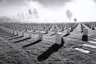 Photograph - Fort Rosecrans National Cemetery by Priya Ghose