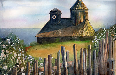 Painting - Fort Ross by Sean Parnell