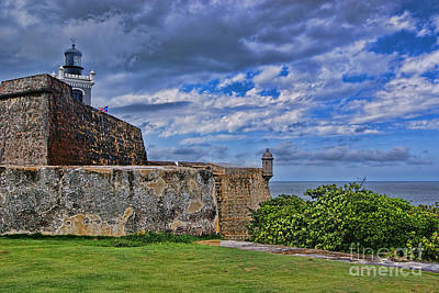 Photograph - Fort San Felipe Del Morro  by Olga Hamilton