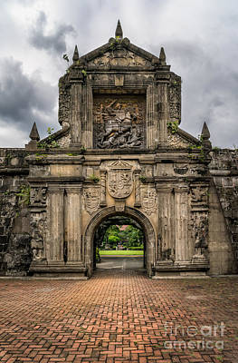 Photograph - Fort Santiago by Adrian Evans