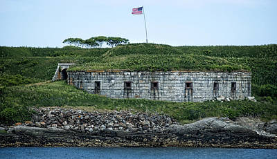 Photograph - Fort Scammel by Phil Cardamone