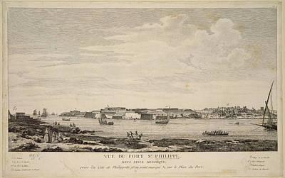 Fort St. Philippe Art Print