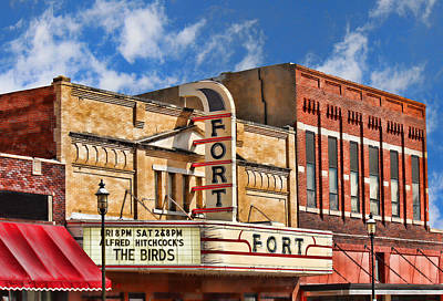 Photograph - Fort Theater by Sylvia Thornton