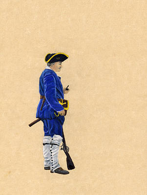 Fort Toulouse Soldier At Ease Art Print by Beth Parrish