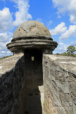 Photograph - Fort Turret I by Mary Haber