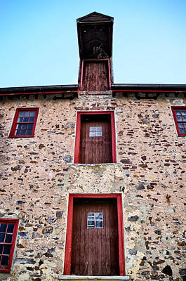 Mather Digital Art - Fort Washington - Mather Mill by Bill Cannon