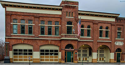 Photograph - Fort Wayne Firefighters Museum by Gene Sherrill