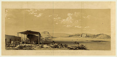 Fort William And The Town Of Bir, Narrative Art Print by Litz Collection