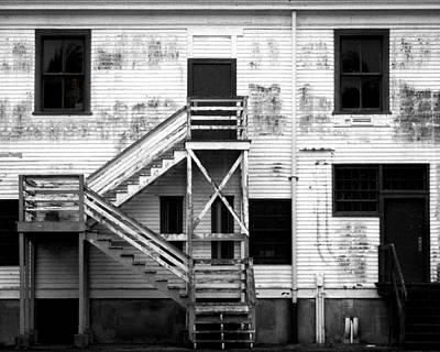 Photograph - Fort Worden Barracks II by Timothy Bulone