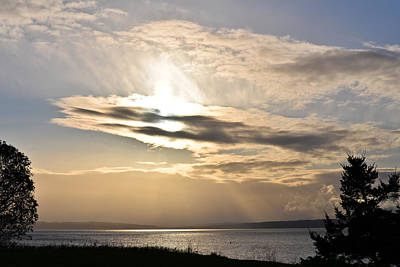 Photograph - Fort Worden Spring Morning II by Ronda Broatch
