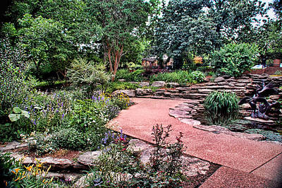 Photograph - Fort Worth Botanic Garden by Janet Maloy