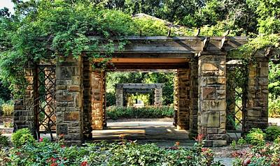 Photograph - Fort Worth Gardens by Janet Maloy