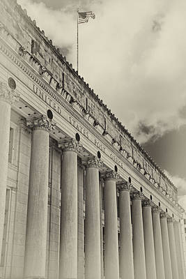 Old Post Office Photograph - Fort Worth Post Office by Joan Carroll