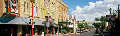 Worth Photograph - Fort Worth Stockyards, Fort Worth by Panoramic Images