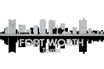 Fort Worth Tx 4 Art Print