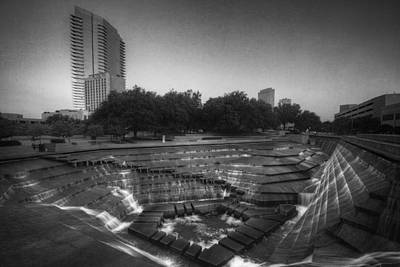 Fort Worth Texas Photograph - Fort Worth Water Gardens by Joan Carroll