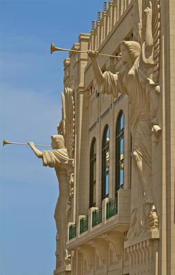 Fort Worth's Angels Art Print by John Babis