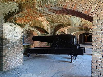 Photograph - Fort Zachary Taylor Columbiad by Keith Stokes