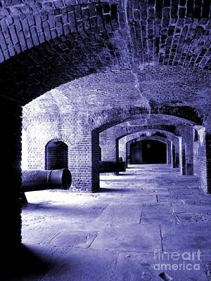 Fort Zachary Taylor2 Art Print by Claudette Bujold-Poirier