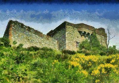 Painting - Forte Puin 0136m - By Enrico Pelos by Enrico Pelos
