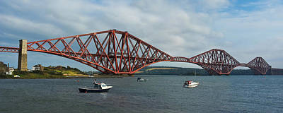 Photograph - Forth Rail Bridge - Scotland by Jane McIlroy