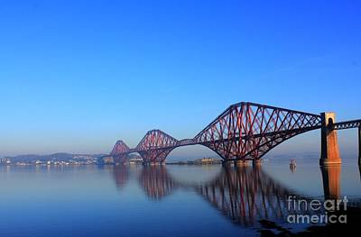 Photograph - Forth Rail Bridge by David Grant