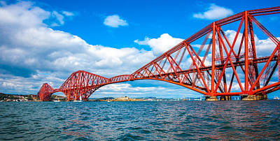 Photograph - Forth Rail Bridge by Max Blinkhorn
