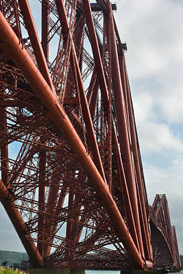 Photograph - Forth Rail Bridge Scotland by Jane McIlroy