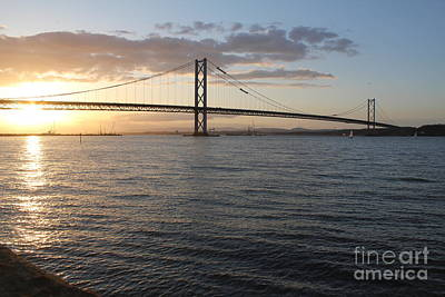 Photograph - Forth Road Bridge by David Grant