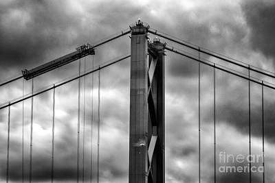 Edinburgh Photograph - Forth Road Bridge by John Farnan
