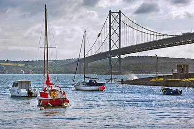 Photograph - Forth Road Bridge Scotland by Jane McIlroy