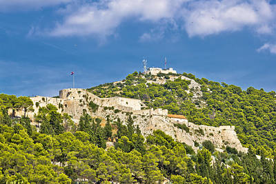Photograph - Fortica Fortress In Town Of Hvar by Brch Photography