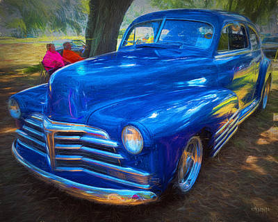 Photograph - Forties Classic Chevrolet Car by Rebecca Korpita