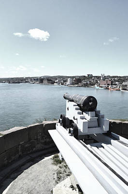 Digital Art - Fortification Nfld by Steve Hurt
