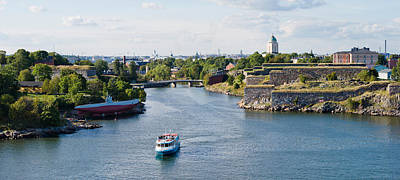 Helsinki Photograph - Fortress At The Waterfront by Panoramic Images