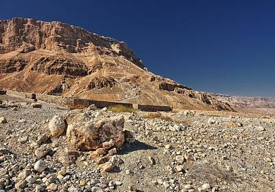 Photograph - Fortress Of Masada Israel 3 by Mark Fuller