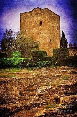 Fortress Tower Print by Mary Machare