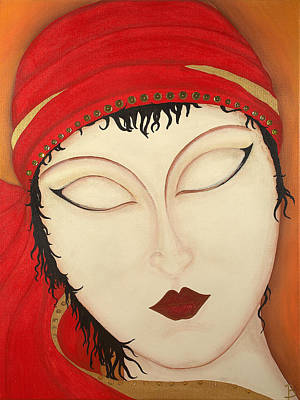 Fortuna Art Print by Bridget Dedyuhina-Rymell