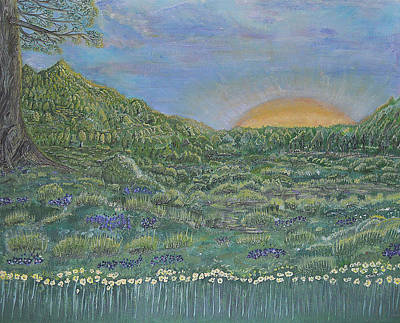 Painting - Fortunately Spring 2 by Felicia Tica