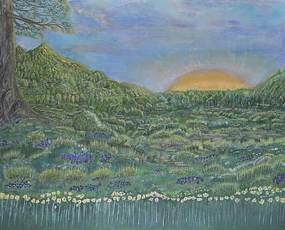Fortunately Spring 2 Original by Felicia Tica