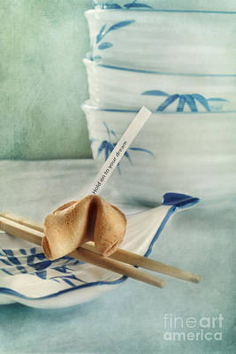Still Life Photograph - Fortune Cookie by Priska Wettstein