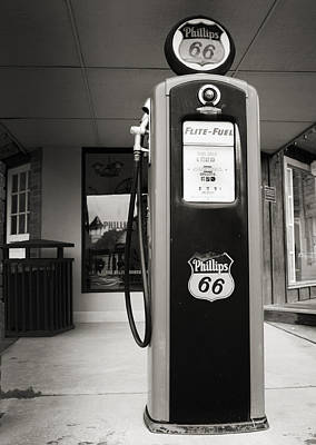Photograph - Forty Cents A Gallon by Ricky Barnard