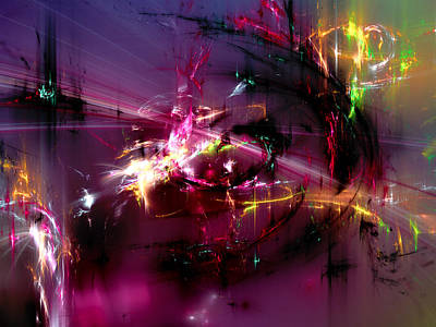 Mind Bending Digital Art - Forty-eight by Jeff Iverson