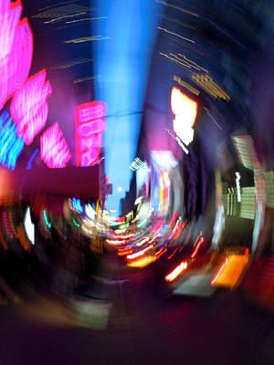 Alejandro Gutierrez Photograph - 45th Near Broadway by Alejandro Gutierrez