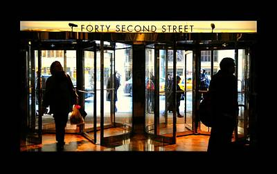 Forty Second Street Art Print by Diana Angstadt