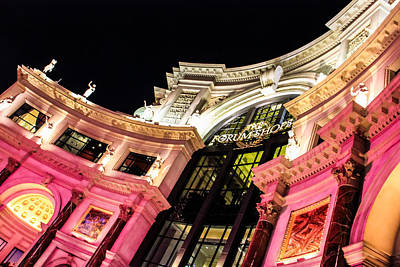 Photograph - Forum Shops At Caesars Palace by Eti Reid
